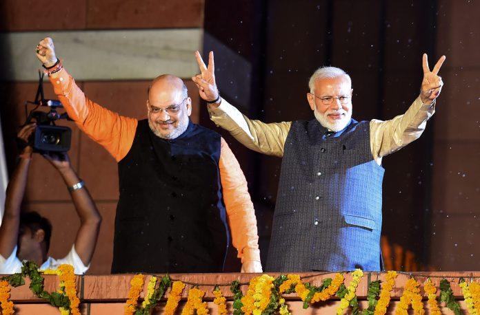 Amit Shah, Narendra Modi,