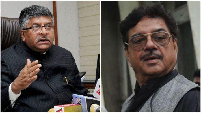 Shatrughan-Sinha-Ravi-Shankar-Prasad