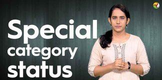 Special status category, Odisha, Cyclone Fani