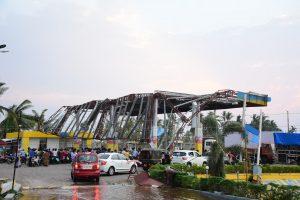 Puri petrol station