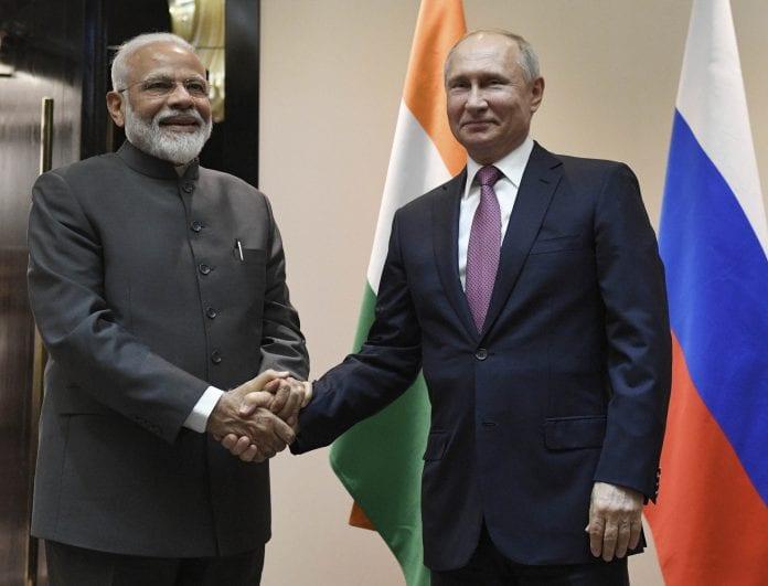 Narendra Modi with Vladimir Putin, The Federal, English news website