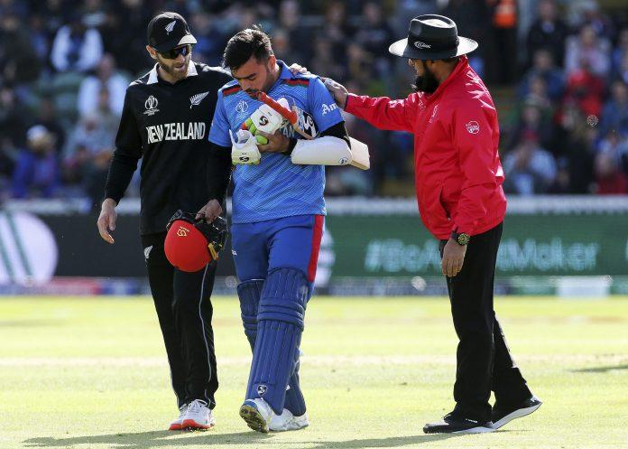 Rashid Khan, Afghanistan, Gulbadin Naib, South Africa, World Cup, Cricket, Concussion