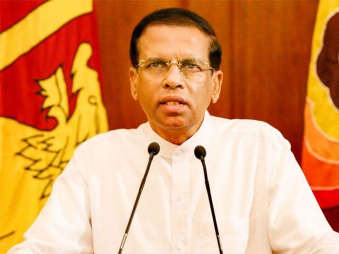 Sri Lanka's President, Maithripala Sirisena, Sri Lanka, drug convicts, hanging, The Federal, English news website