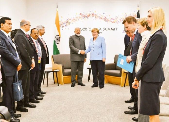Prime Minister Narendra Modi, German Chancellor Angela Merkel., G20 Summit, Osaka, Indo-German relations, The Federal, English news website