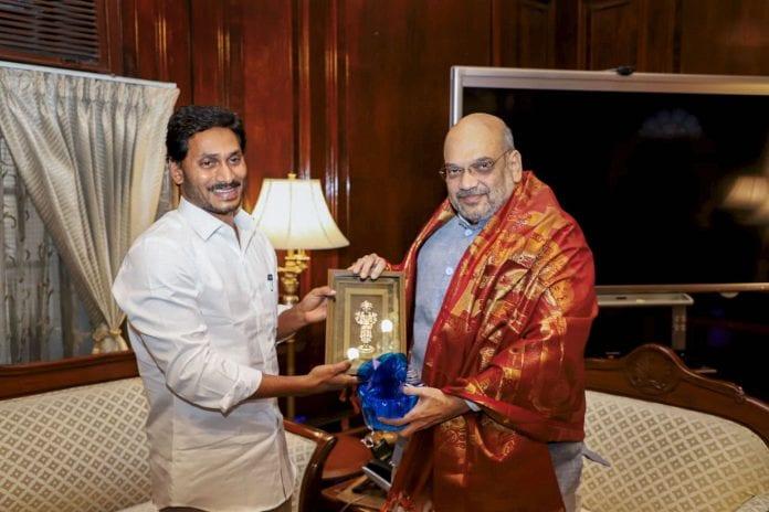 Jaganmohan Raddy meets Amit Shah, The Federal, English news website