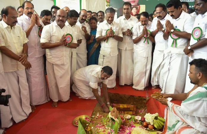 TamilNadu CM laying foundation for desalination plant - The Federal.