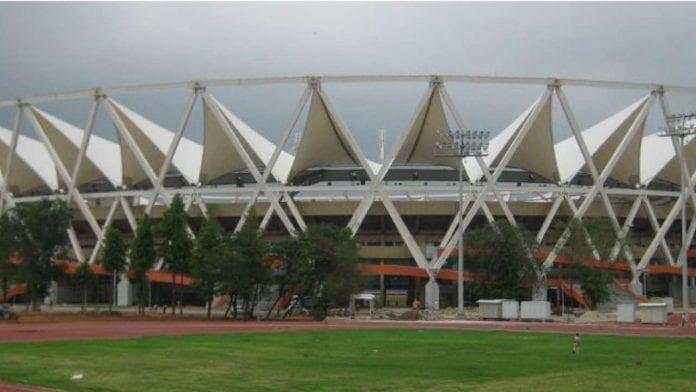 Sports Ministry, Fit India Movement, Sports Minister Kiren Rijiju, Jawaharlal Nehru Stadium, Indira Gandhi Stadium, Major Dhyanchand National Stadium, Karni Singh Shooting Range