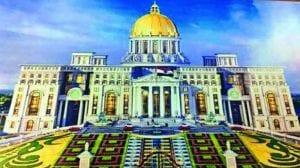 Design of the new Secretariat complex of Telangana, The Federal, English news website.