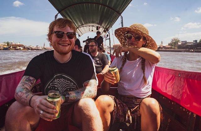 Ed Sheeran, Cherry Seaborn, marriage, The Federal, English news website