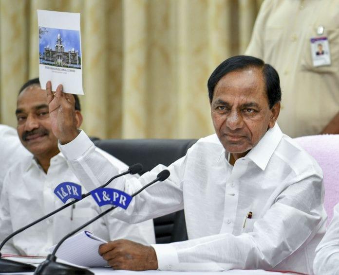 K Chandrashekar Rao KCR Governor ESL Narasimhan Municipality - The Federal