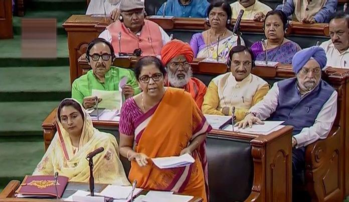 Ponzi scheme, illegal deposit, Lok Sabha, Finance Minister Nirmala Sitharaman, The federal, English news website