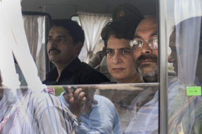 Priyanka Gandhi, Uttar Pradesh, Sonbhadra, firing, The Federal, English news website