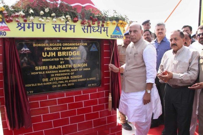 Defence Minister, Kargil war, two bridges, Kashmir issue, The Federal, English news website