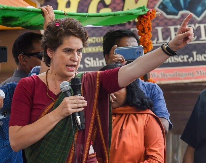 Priyanka Gandhi Vadra Jammu Kashmir Article 370 - The Federal