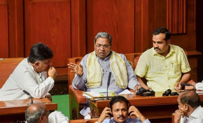Karnataka trust vote Siddaramaiah - The Federal