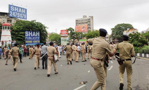 police team, guns, video, social media, Uttar Pradesh SWAT team, transferred, Punjabi song, slow motion, The Federal, English news website