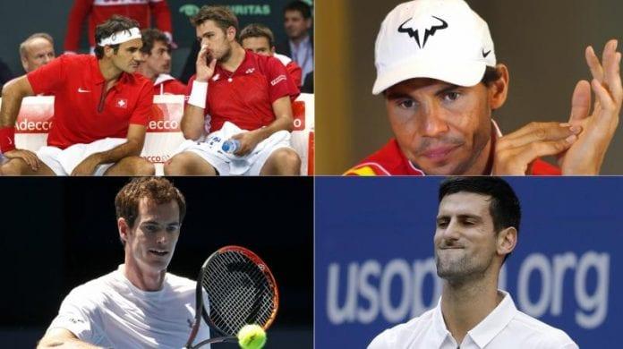 Novak Djokovic, Andy Murray, Dominic Thiem, Rafael Nadal, world number one, ATP rankings