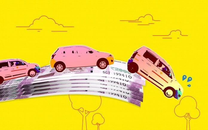 Ola, Uber, Cab protests, Ride aggregator, Drivers, Debt trap, Karnataka, Bengaluru, the federal, english news website