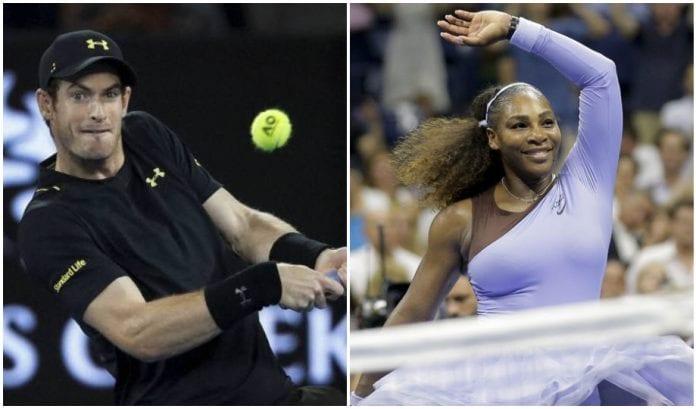 Andy Murray, Serena Williams, Tennis, Wimbledon, AFP, Andreas Mies, Alexa Guarachi, english news website, The Federal
