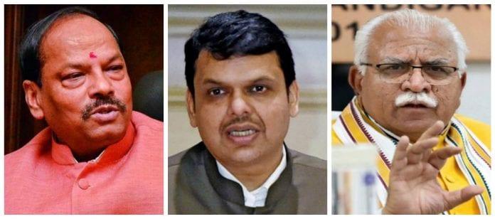 BJP, Raghubar Das, Devendra Fadnavis, Manohar Lal Khattar, Amit Shah, Assembly polls, The Federal, English news website