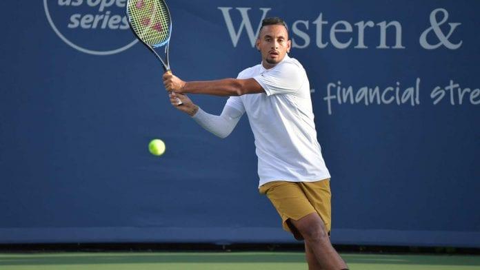 Karen Khachanov, Nick Kyrgios, ATP, Cincinnati Masters, Tennis, smash racquets, toss shoes, english news website, The Federal