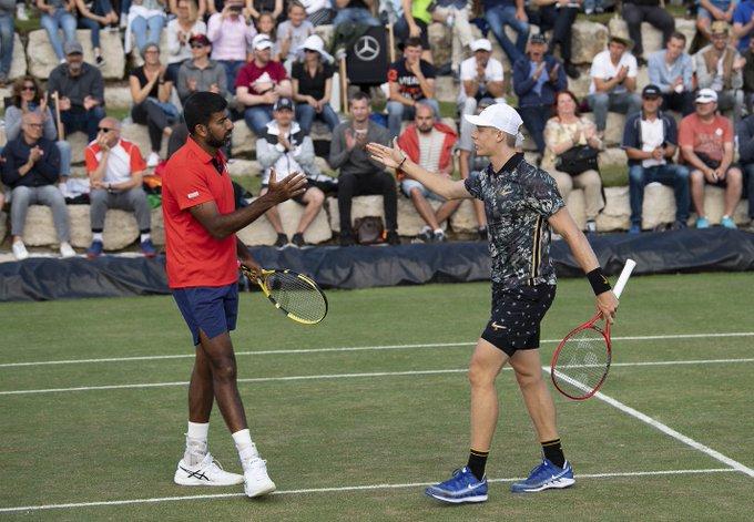 Rohan Bopanna, Denis Shapovalov, ATP, Montreal Masters, doubles event, Tennis, Stan Wawrinka, english news website, The Federal