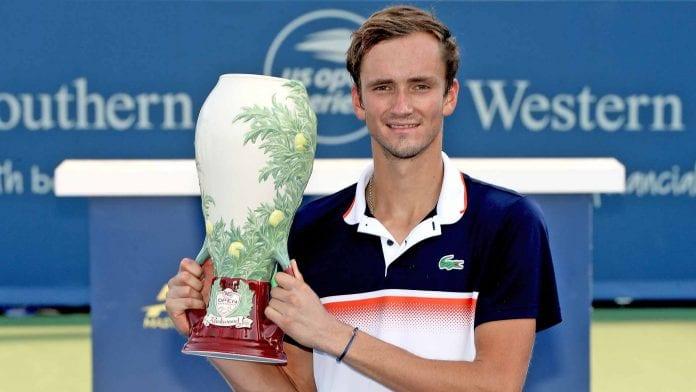 ATP, Cincinnati Masters, finale, Daniil Medvedev, Tennis, Roger Federer, Rafael Nadal, Novak Djokovic, David Goffin, english news website, The Federal