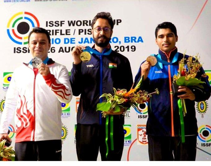 Abhishek Verma, Saurabh Chaudhary, Shooting, World Cup, Gaurav Rana