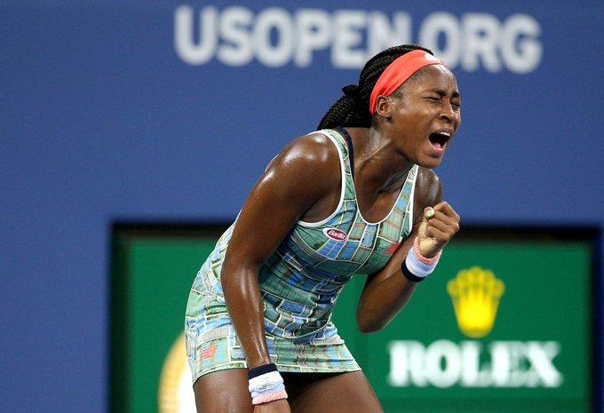 Cori Gauff, Naomi Osaka, Rafael Nadal, Simona Halep, US Open, Grand Slam, Wimbledon, Daniil Medvedev, Tennis