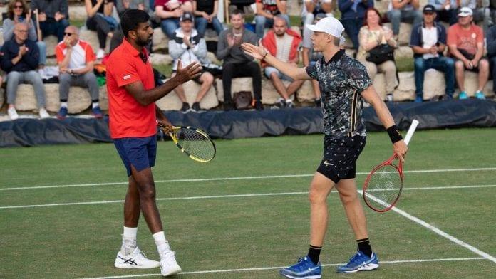 Rohan Bopanna, Denis Shapovalov, Guillermo Duran, Leander Paes, US Open, Grand Slam, Tennis