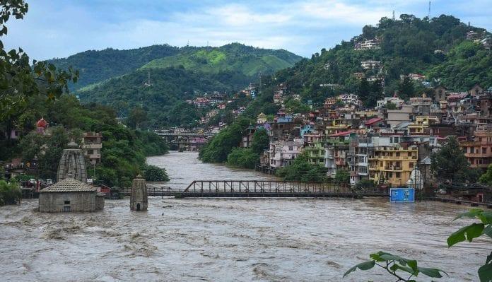 Himachal rains floods Beas river - The Federal