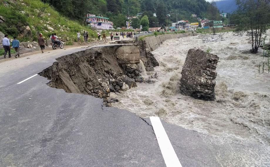 Himachal rains Kullu Beas river - The Federal
