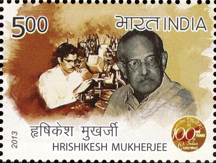 Hrishikesh Mukherjee, film maker, editor, Chupke Chupke, Guddi, Anuradha