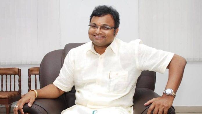 Karti Chidambaram, son of former Union minister P Chidambaram, INX Media corruption case, ED, Jor Bagh residence, New Delhi, PMLA, The Federal, English news website