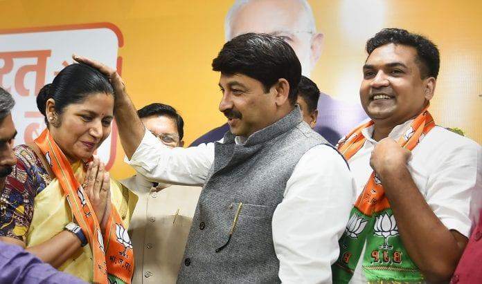 Kapil Mishra, Richa Pandey, AAP, BJP, Manoj Tiwari, The Federal, English news website