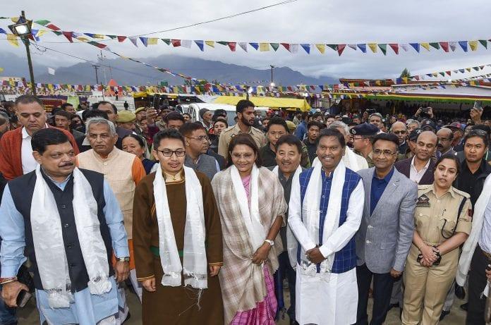 Ladakh, tribal area, Sixth schedule, Jamyang Tsering Namgyal, Arjun Munda, The Federal, English news website