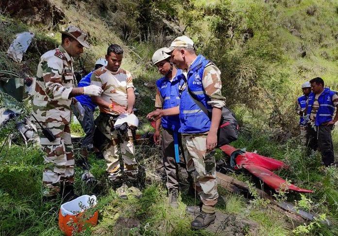 helicopter crash, Uttarkashi, relief and rescue operations, rains, floods, Uttarakhand