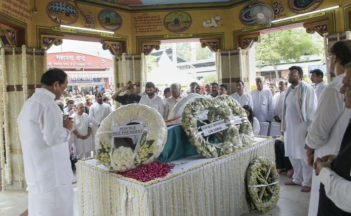 Arun Jaitley death, AIIMS, cremation, Nigambodh Ghat