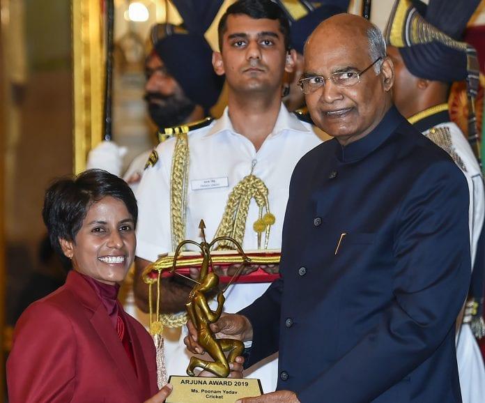 BCCI, Ravindra Jadeja, Poonam Yadav, cricketers, Arjuna Award, Vinod Rai