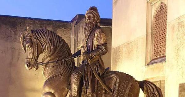 Maharaja Ranjit Singh, statue, vandalised, Pakistan, Lahore, Article 370, Constitution, Jammu and Kashmir, The Federal, English news website