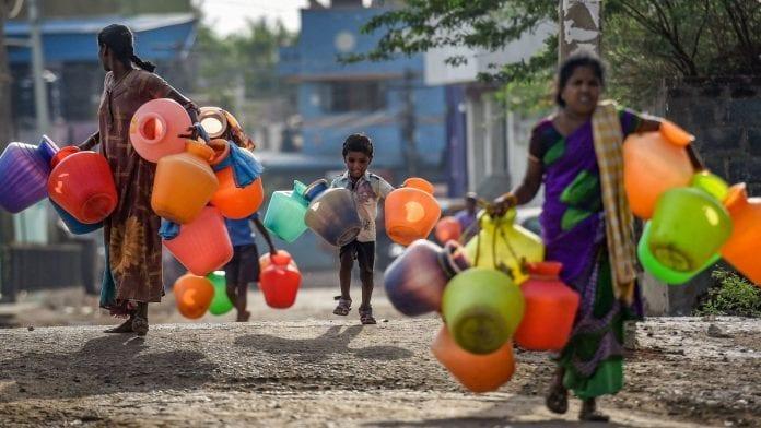 Water crisis, Chennai