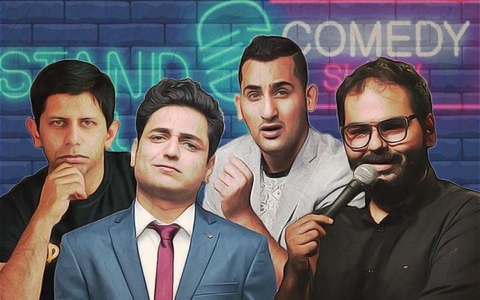 Kunal Kamra, Kenny Sebastian, Akash Banerjee, Danish Sait, UPA, BJP, Narendra Modi, Stand-up comedy, Humour, Laughter, Self-censorship