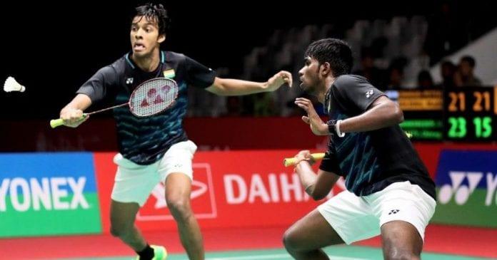 Chirag Shetty, Satwiksai Rankireddy, Tokyo 2020 Olympics, Badminton, BWF World Championship, men's doubles,