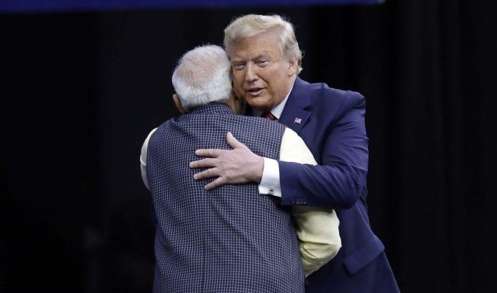 Donald Trump, Narendra Modi, India NBA debut, Indian Prime Minister, US President, Sacramento Kings, Indiana Pacers, basketball league