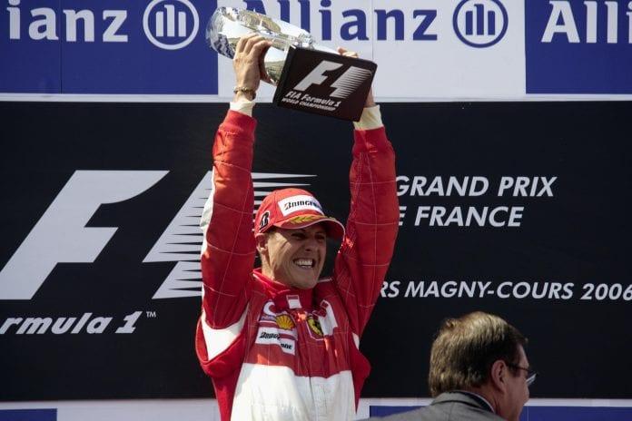 Michael Schumacher, Formula One, Cell Therapy, Ferrari, Mercedes