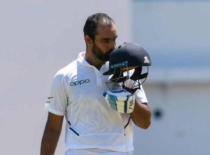Hanuma Vihari, Test Cricket, South Africa Tour of India, INDvSA, Indian Test Team