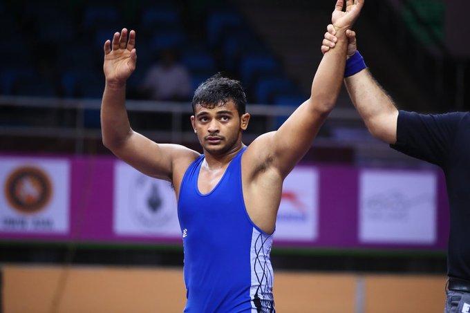 Deepak Punia, World Championship, Wrestling, ankle injury, 2020 Tokyo Olympics