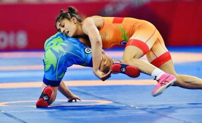 Vinesh Phogat, Wrestler, World Championship, defending champion Mayu Mukaida, Seema Bisla, Komal Gole,