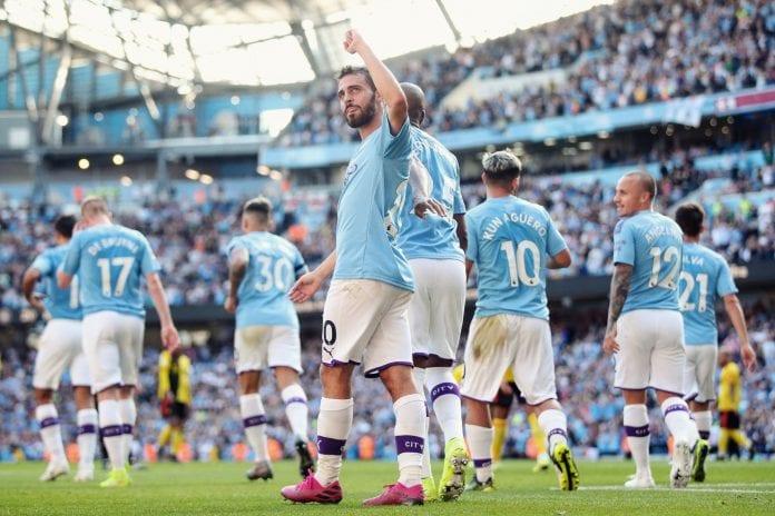 Manchester City, Watford, Premier League, Leicester, Tottenham, Kevin De Bruyne, Harry kane, Sergio Aguero