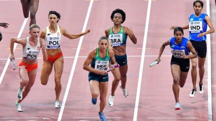 4x400m mixed relay, World Championships, Athletics, Indian team, Muhammed Anas, VK Vismaya, Jisna Mathew, Tom Nirmal Noah, seventh
